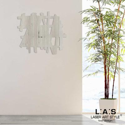 Wall clocks </br> Code: G-393L | Size: 100x90 cm </br> Colour: grey wood