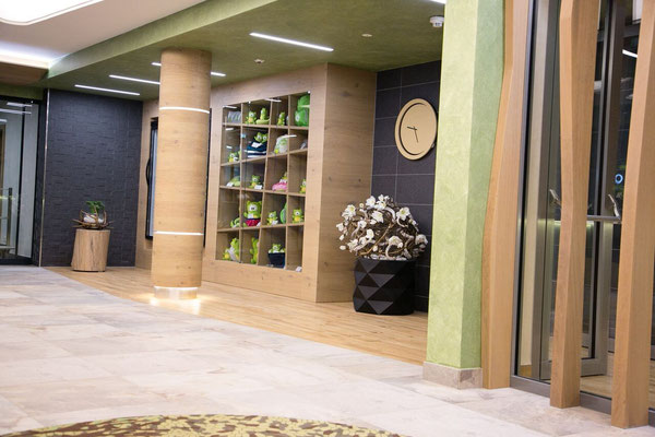 Aigo Familien & Sport Resort - 4*S Hotel <br> Reception