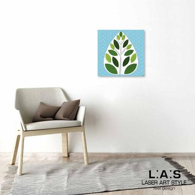 Quarantotto </br>  Code: Q-007 | Size: 48x48 cm </br> Colour: green decoration-wood engraving
