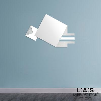 Specchiere </br> Codice: SI-359 | Misura: 120x80 cm </br>  Colore: argento-bianco