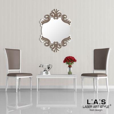 Mirrors </br> Code: SI-248-SP | Size: 64x87 cm </br>  Colour: cream-dove grey