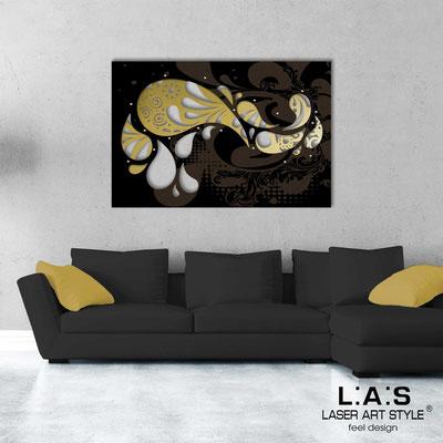 Quadri Astratti </br> Codice: SI-213 | Misura: 150x100 cm </br> Colore: oro-nero-incisione legno