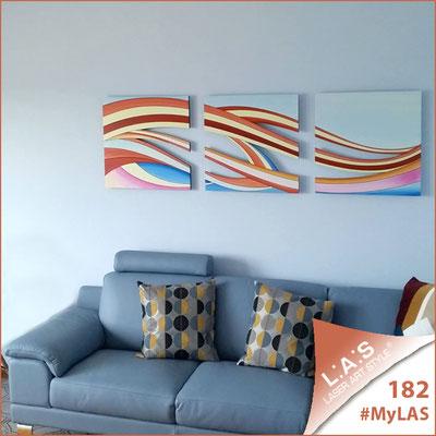 Abitazione privata   Italia </br> Codice: SI-114A   Misura: 60x60 cm/cad <br> Colore: decoro multicolor