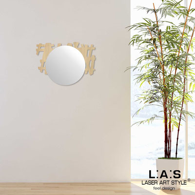 Mirrors </br> Code: W-386 | Size: 75x55 cm </br>  Colour: natural wood