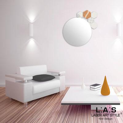 Mirrors </br> Code: SI-331 | Size: 60x65 cm </br>  Colour: cream-vintage colors decoration-matched engraving