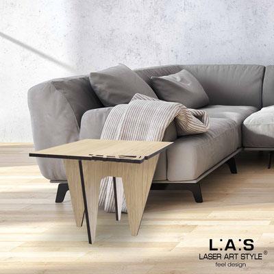 Complementi d'arredo </br> Codice: W-400 | Misura: 60x60 h50 cm </br> Colore: natural wood