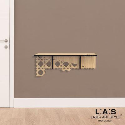 Complementi d'arredo </br> Codice: W-406 | Misura: 90x30 cm </br> Colore: natural wood