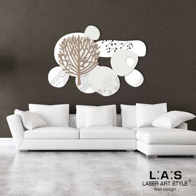 Quadri Floreali </br>  Codice: SI-272   Misura: 120x90 cm </br>  Colore: bianco-panna-nocciola