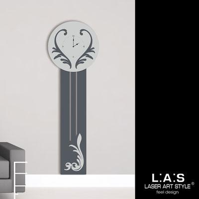 Orologi </br> Codice: SI-244OR | Misura: 60x180 cm </br>  Colore: antracite-grigio luce-incisione legno