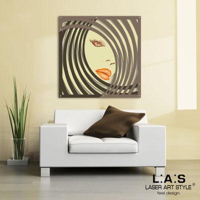 Quadri Figurativi </br> Codice: SI-122 | Misura: 90x90 cm </br> Codice: SI-122M | Misura: 60x60 cm </br> Colore: sabbia-marrone-grigio marrone-decoro toni caldi-incisione legno