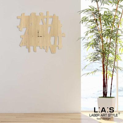 Orologi </br> Codice: W-393L | Misura: 100x90 cm </br>  Colore: natural wood