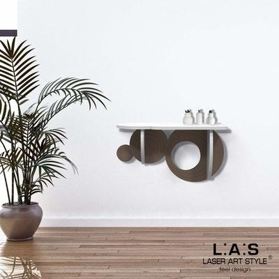 Complementi d'arredo </br> Codice: SI-278 | Misura: 60x30 cm </br> Colore: bianco-grigio marrone-incisione tono su tono