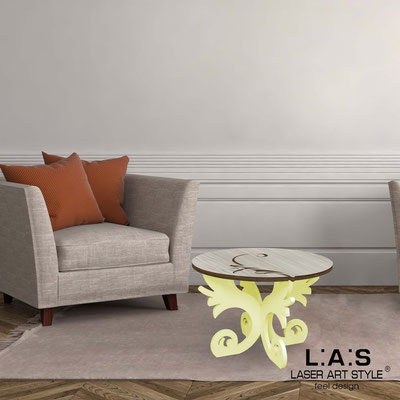 Furnishings </br> Code: MG-288   Size: 60x60 h40 cm </br> Colour: grey wood-blonde