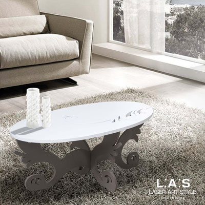 Furnishings </br> Code: SI-289   Size: 100x60 h40 cm </br> Colour: white-dove grey