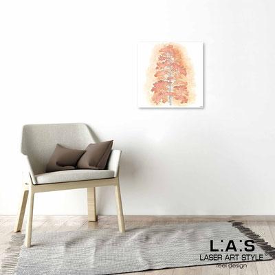 Quarantotto </br>  Codice: Q-004 | Misura: 48x48 cm </br> Colore: decoro pesca-incisione legno