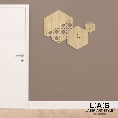Orologi </br> Codice: W-415L | Misura: 100x80 cm </br>  Colore: natural wood
