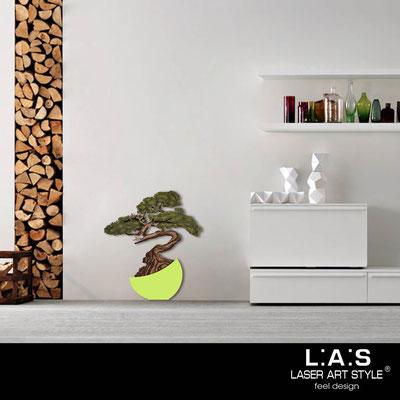 Quadri Floreali </br>  Codice: SI-192-E | Misura: 73x83 cm </br>  Colore: verde acido-decoro verdone-incisione legno