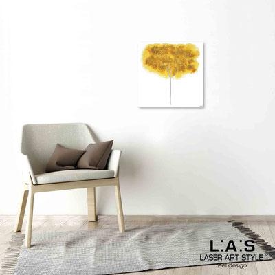 Quarantotto </br>  Codice: Q-005 | Misura: 48x48 cm </br> Colore: decoro senape-incisione legno