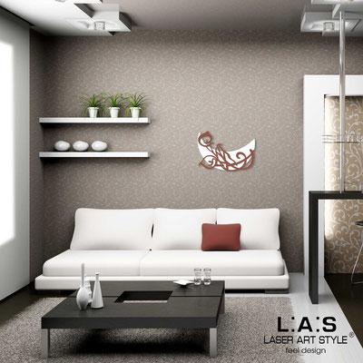 Figurative wall sculpture </br> Code: SI-242L | Size: 65x45 cm </br> Code: SI-242XL | Size: 93x64 cm </br> Colour: white-tile