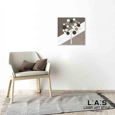 Quarantotto </br>  Code: Q-009 | Size: 48x48 cm </br> Colour: dove grey decoration-wood engraving