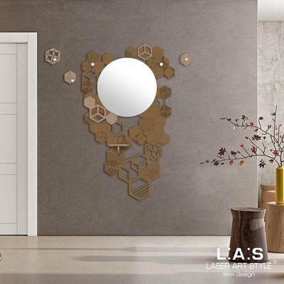Complementi d'arredo </br> Codice: SI-315 | Misura: 100x150 cm </br> Colore: bronzo-nocciola-incisione tono su tono