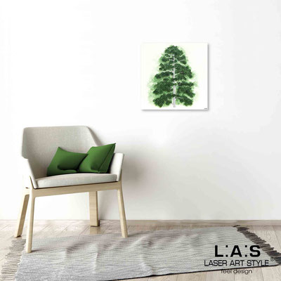 Quarantotto </br>  Code: Q-004 | Size: 48x48 cm </br> Colour: green decoration-wood engraving