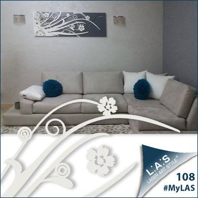 Abitazione privata | Italia </br> Codice: SI-107-B | Misura: 148x50 cm </br> Colore: marrone - panna