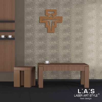 Crucifixes </br> Code: CR23 | Size: 40x40 cm </br> Colour: bronze