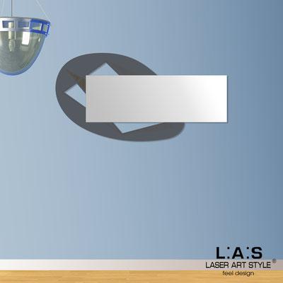 Specchiere </br> Codice: SI-376 | Misura: 145x75 cm </br>  Colore: antracite-incisione legno