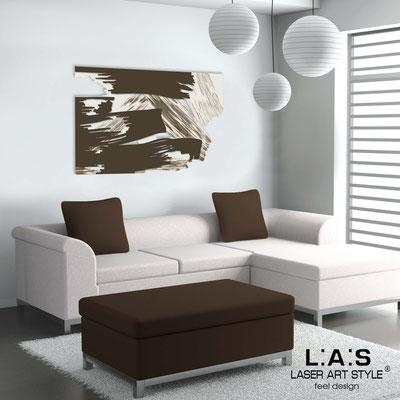 Quadri Astratti </br> Codice: SI-262 | Misura: 150x100 cm </br> Colore: panna-marrone-decoro marrone