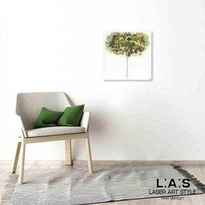 Quarantotto </br>  Codice: Q-005 | Misura: 48x48 cm </br> Colore: decoro verde-incisione legno