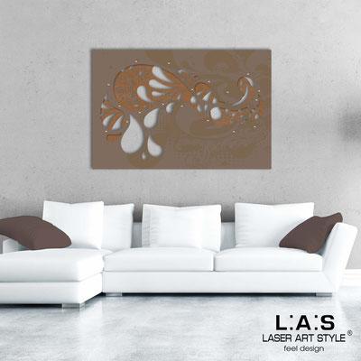 Quadri Astratti </br> Codice: SI-213 | Misura: 150x100 cm </br> Colore: bronzo-grigio marrone-incisione legno
