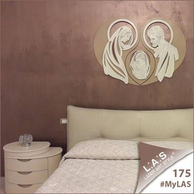 A casa di Stefania   Italia </br> Codice: SI-266-SF   Misura: 120x90 cm </br> Colore: nocciola-panna-incisione legno