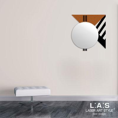 Mirrors </br> Code: SI-357 | Size: 70x75 cm </br>  Colour: black-copper