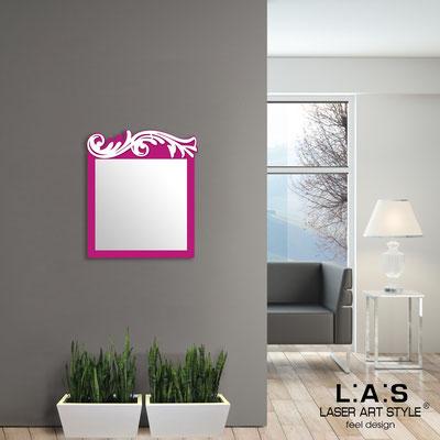 Specchiere </br> Codice: SI-319 | Misura: 60x70 cm </br>  Colore: porpora-bianco