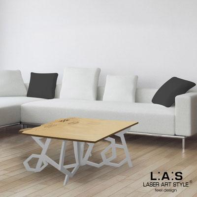 Complementi d'arredo </br> Codice: MW-317 | Misura: 100x60 h50 cm </br> Colore: natural wood-cemento-incisione legno