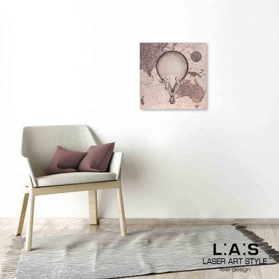 Quarantotto </br>  Codice: Q-029 | Misura: 48x48 cm </br> Colore: decoro ruggine-incisione legno