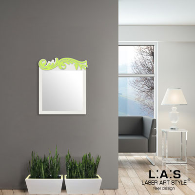 Mirrors </br> Code: SI-319 | Size: 60x70 cm </br>  Colour: cream-lime