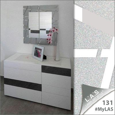 Abitazione privata | Italia </br> Codice: SI-095Q-SP | Misura: 90x90 cm </br> Colore: argento-acciaio inox