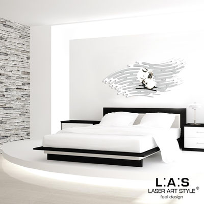 Sacred wall sculptures </br> Code: SI-160 | Size: 165x73 cm </br> Colour: white-light grey-black engraving