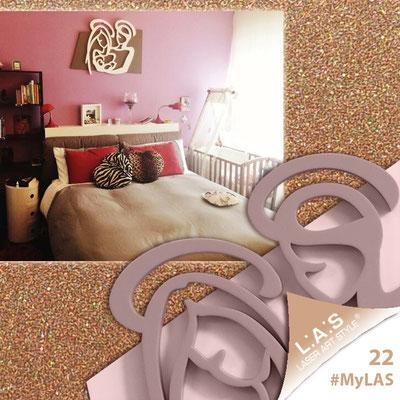 A casa di Alessandro <br> Abitazione privata | Italia </br> Codice: SI-228XL | Misura: 90x70 cm </br> **PERSONALIZZATO** Colore: bronzo - panna