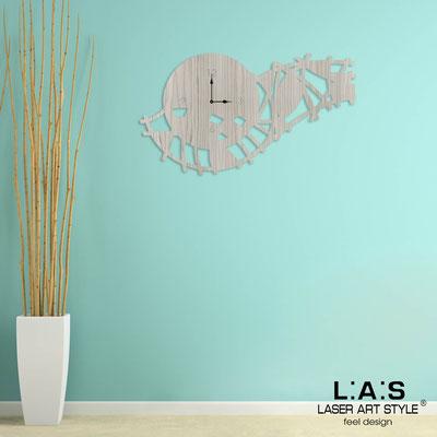 Wall clocks </br> Code: G-404L | Size: 90x50 cm </br> Colour: grey wood