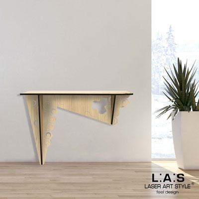 Complementi d'arredo </br> Codice: W-418 | Misura: 120x40 h80 cm </br> Colore: natural wood