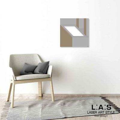 Quarantotto </br>  Code: Q-021 | Size: 48x48 cm </br> Colour: concrete grey-wood engraving