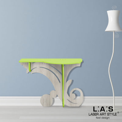 Furnishings </br> Code: MG-286   Size: 120x40 h80 cm </br> Colour: lime-grey wood