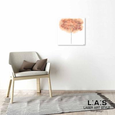 Quarantotto </br>  Codice: Q-005 | Misura: 48x48 cm </br> Colore: decoro pesca-incisione legno