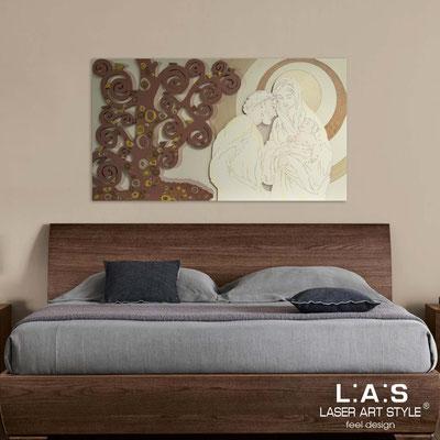 Sacred wall sculptures </br> Code: SI-173 | Size: 125x70 cm </br> Colour: cream-tile-warm shades decoration