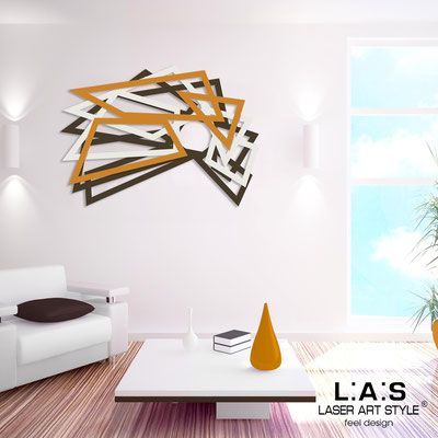 Abstract wall sculptures </br> Code: SI-186 | Size: 140x90 cm </br> Colour: brown-cream-light orange