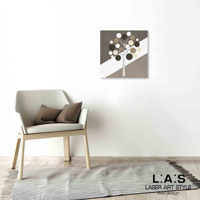 Quarantotto </br>  Codice: Q-009 | Misura: 48x48 cm </br> Colore: decoro tortora-incisione legno