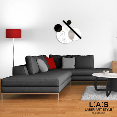 Quadri Astratti </br> Codice: SI-348 | Misura: 85x70 cm </br> Colore: bianco-nero-incisione legno